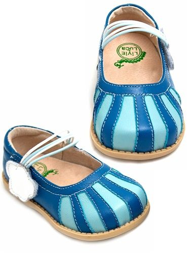Livie & Luca - Dawn Blue girls shoes