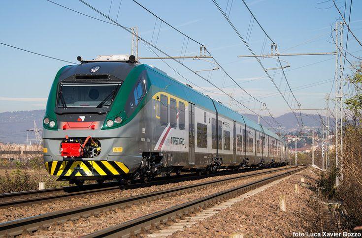 Trenord ETR 526 001   First 6 coaches Coradia train from Savigliano to Milano