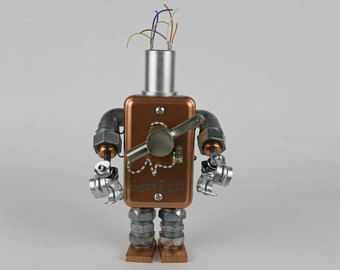 Robot Sculpture for Sale (One of a Kind)
