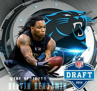 kelvin benjamin carolina panthers | Foto: KELVIN BENJAMINWelcome to the family.KEEP POUNDING QB CAM NEWTON THROWS TO ROOKIE WR KELVIN BENJAMIN. GO PANTHERS