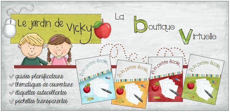 Le Jardin de Vicky > Boutique virtuelle