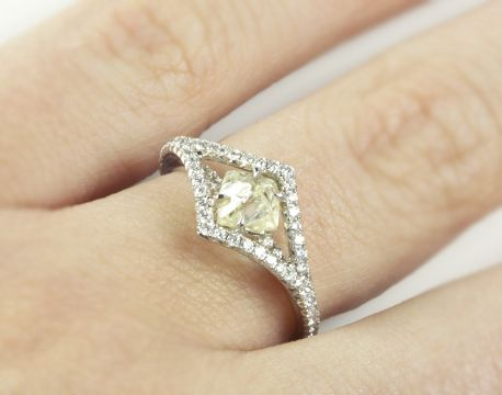 Diamond In The Rough   Victorian ring