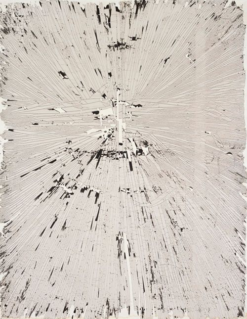 Pierre Cordier Chemigram 25/1/66 V, 1966 Chemigram on gelatin silver photographic paper