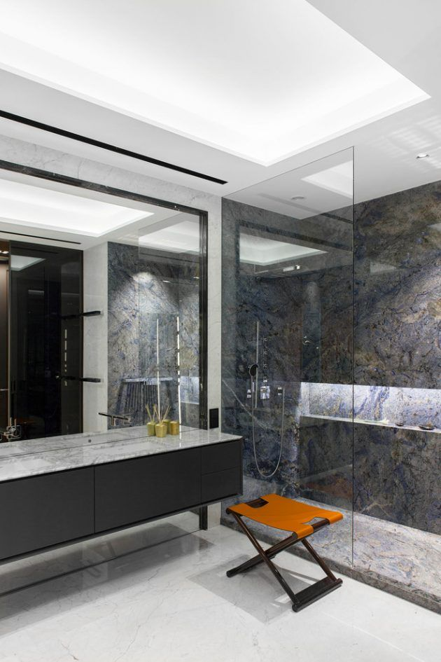 15 Majestic Contemporary Bathroom Interior Designs