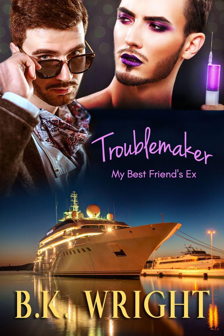 Gay, MM, Romantic Suspense, RomCom Book Cover Design by Chloe Belle Arts for B.K. Wright