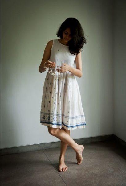 Jamdani Dress from Tilla