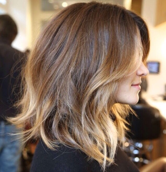 Ombre on short hair!