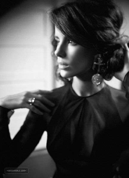 Kate Beckinsale | Italian Vogue  this photo was taken by Odette Sugerman May 2009