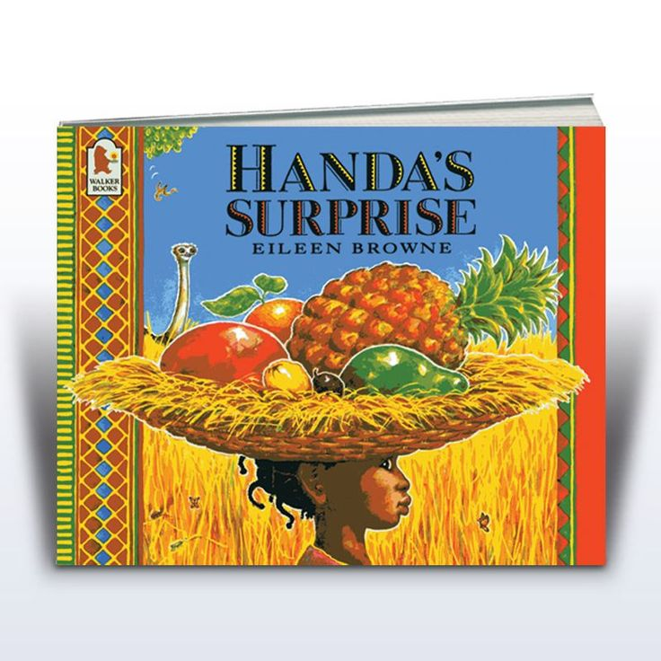 """The image """"Handa's Surprise"""" (Yellow Door, 2015)"""