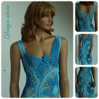lots of diagrams for crochet dresses.... i would change the colours, but the patterns are nice