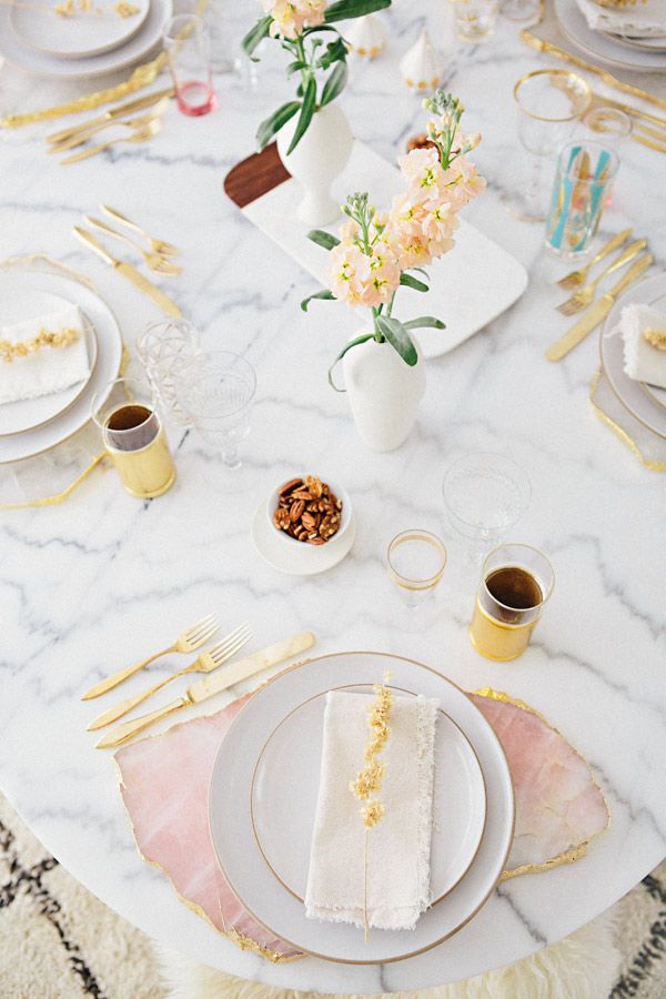 TABLETOP STYLING WITH @Matty Chuah Hostess Haven via A House in the Hills