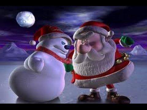 Le Père Noël et le bonhomme de neige - YouTube