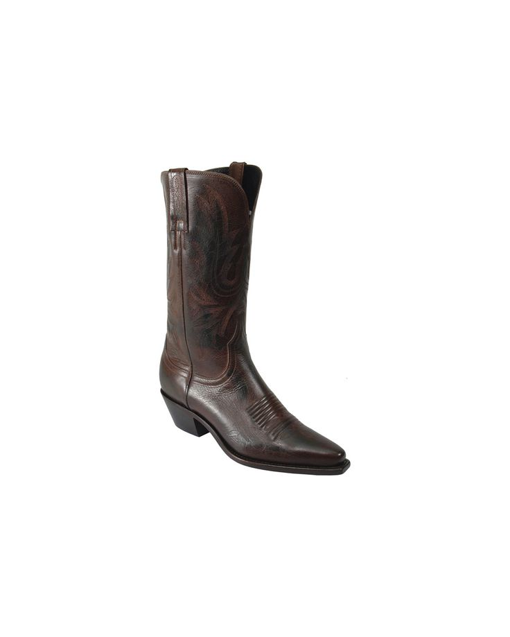 Lucchese Boots for Women   Lucchese Women's Chocolate Mad Dog Western Boots