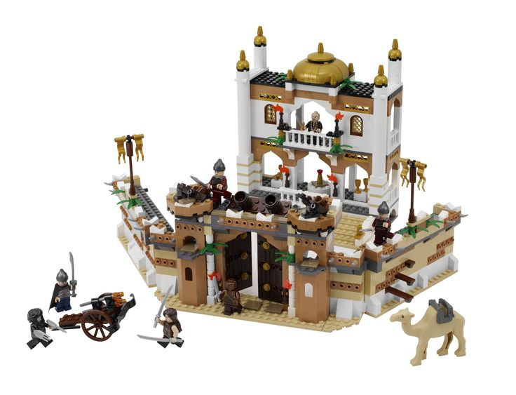 Amazon.com: LEGO Prince of Persia Battle of Almut (7573): Toys & Games