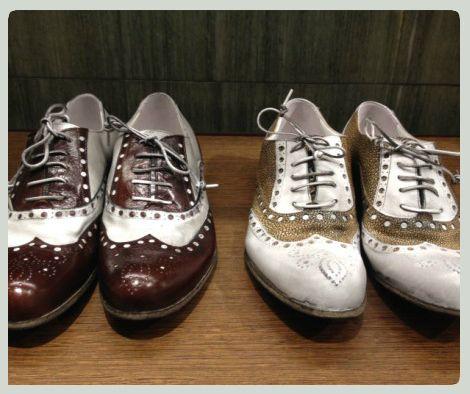 Arsenico Vintage #shoes #leather #SpringSummer #FolliFollie #collection