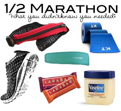 Running a Half? What you didn't know you needed! - via NomNomCrunch.com