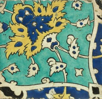 Safavid Tile