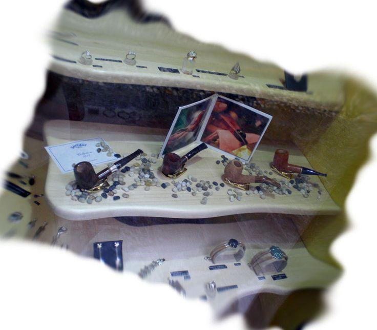 Vetrine con Pipe Savinelli - Anno 2012