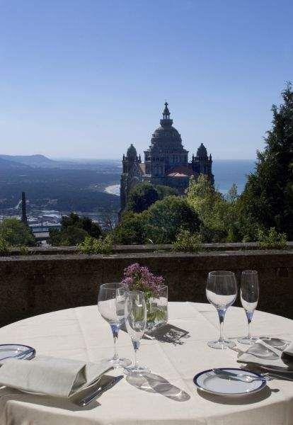 A gorgeous view of Pousada de Santa Luzia, Viana do Castelo, Porto & North Region, Portugal