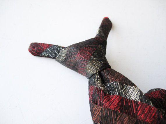 Midcentury Boys Necktie Clip On Tie / by ShantyIrishVintage