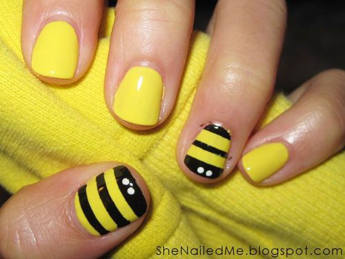7 Super-Cute Manis to Welcome Summer - Good HousKeeping - Fun ideas for nails plus instructions!