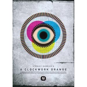 Clockwork+Orange+Print+A3now+featured+on+Fab: Movie Posters,  Whorl, A Clockwork Orange,  Helix, Coil, Clockworkorang, Matte Needle,  Volute,  Spirals