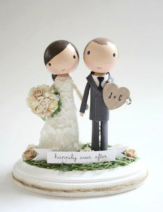 538 best Wedding Cake Toppers images on Pinterest Wedding cake