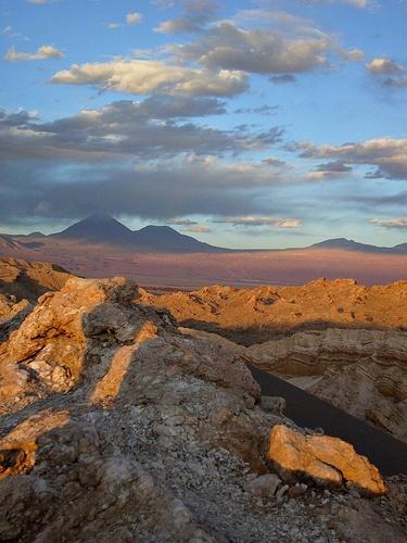 Valle de la Luna. Desierto de Atacama (Chile)