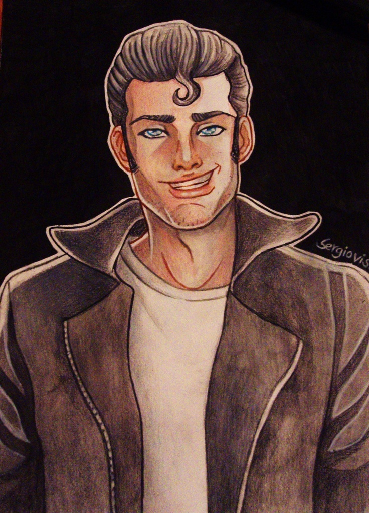 tom of finland tribute by sergiovisual  gay art.