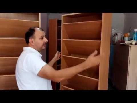 COMO HACER UN ZAPATERO A MEDIDA. - YouTube
