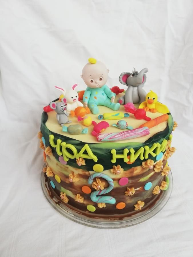 Cocomelon By Cakebi9 In 2019 Birthday Cake Cake 2nd