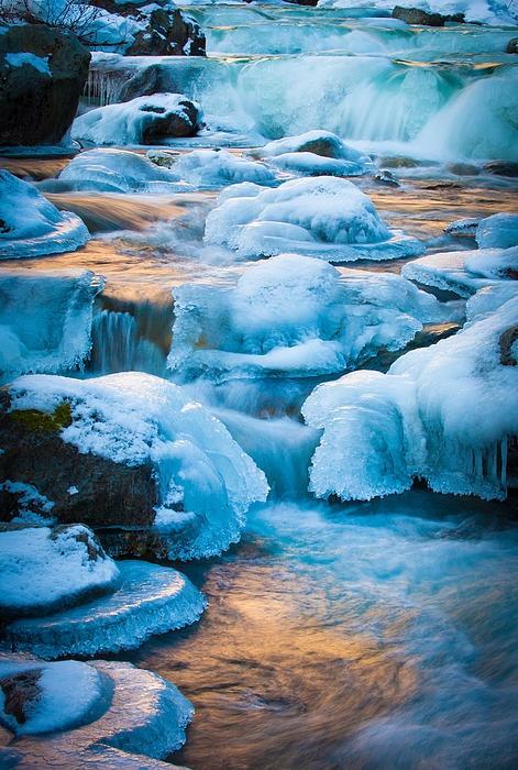 Blewett Pass Creek, Washington by Inge Johnsson