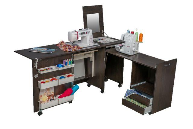 COMFORT 3 sewing machine and overlocker table