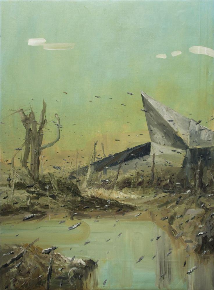 Tomasz Daniec ~ Sepsis | oil | 2013
