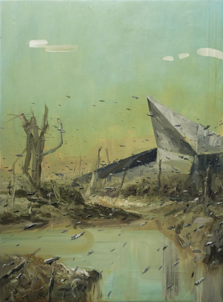 Tomasz Daniec ~ Sepsis   oil   2013
