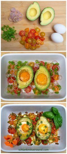 (Avocado schmeckt kalt besser!)
