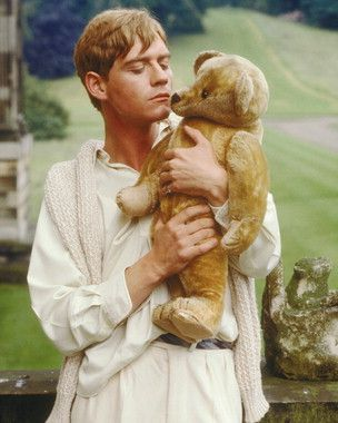 Sebastian Flyte & Aloysius, his Teddy Bear - Brideshead Revisited - Anthony Andrews