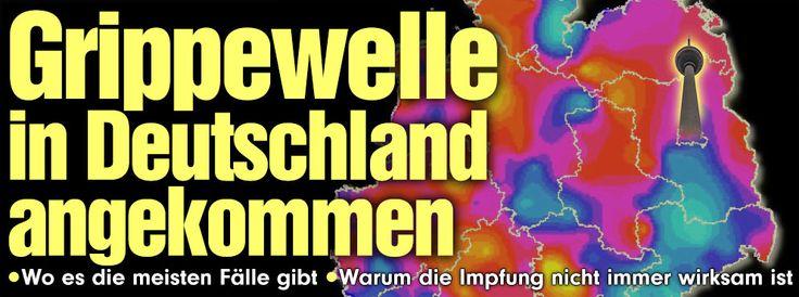 Virus hat sich verändert, daher Impfung nicht immer wirksam. Wo rollt die Grippewelle schon? http://www.bild.de/ratgeber/gesundheit/grippe/grippe-wo-in-deutschland-am-meisten-verbreitet-39761116.bild.html