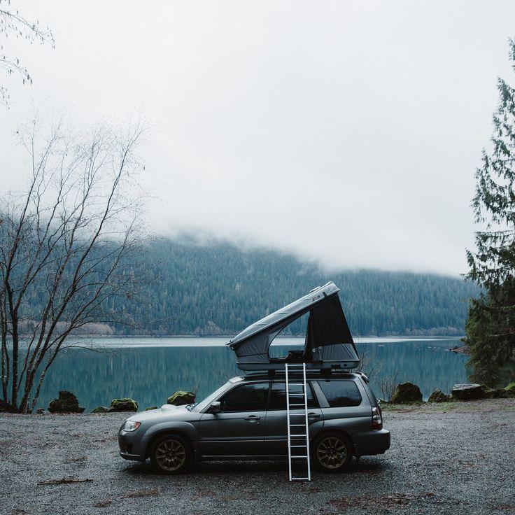 Subaru Forester XT - James Baroud Rooftop Tent