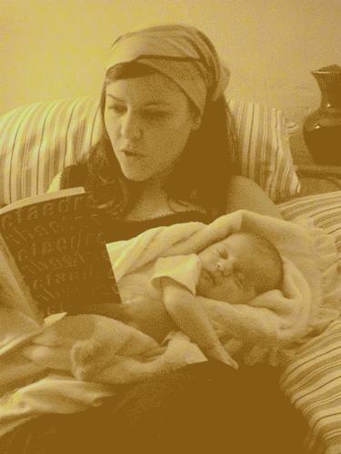 be a good mama.  a reading mama.