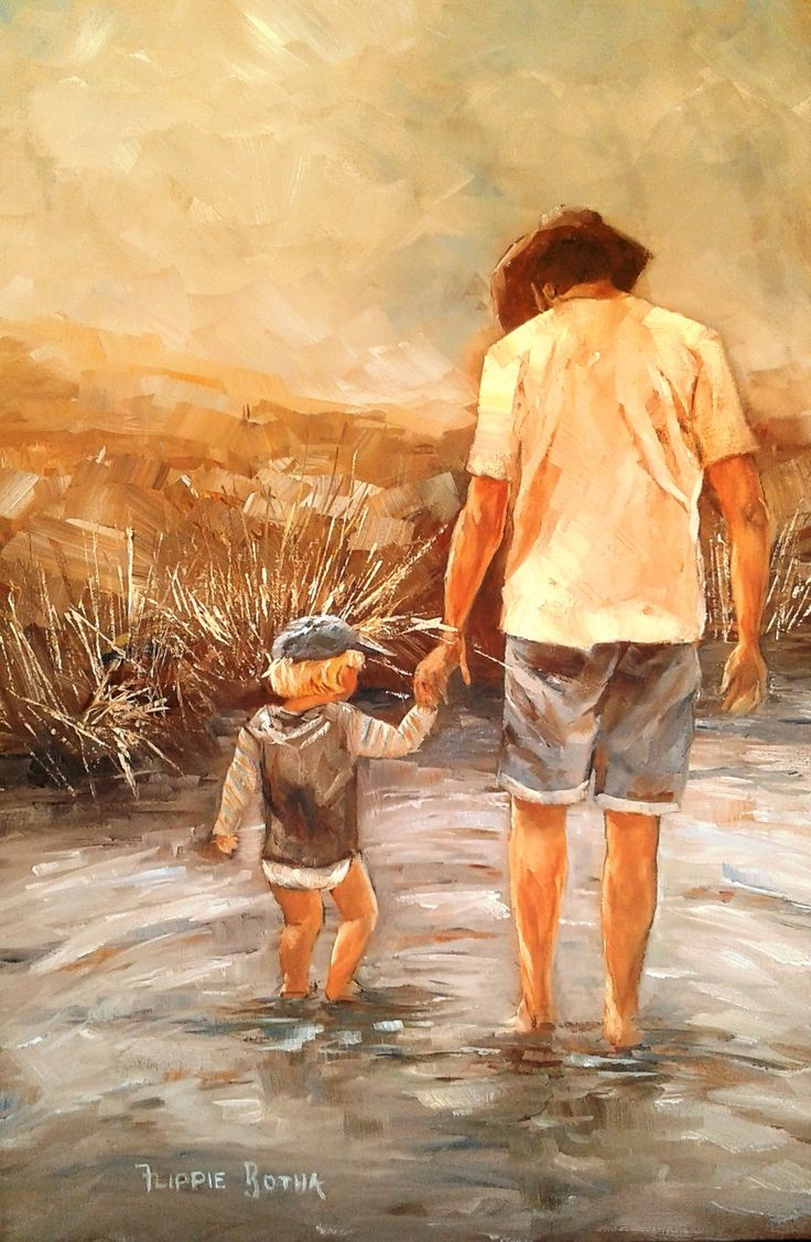 Father and son - Flippie Botha