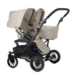 Emmaljunga - Double Viking Perfect for two infants. http://babiesstrollers.net