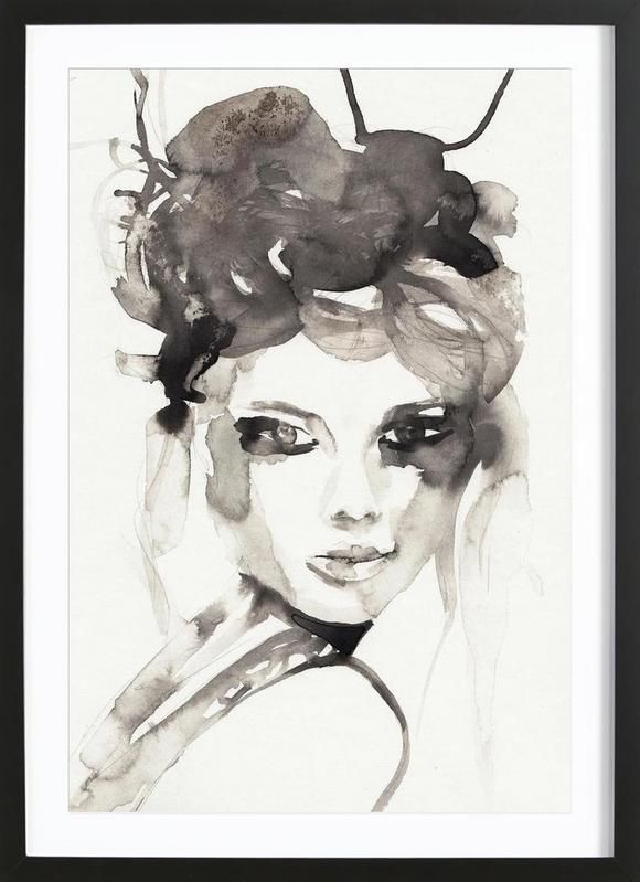 HOT MESS as Framed Poster by Victoria Verbaan | JUNIQE
