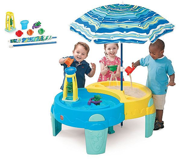 Hire sand & water play table for kids events from BiemBie. Perfect for indoor & outdoor use. Sand & Water Play Table#1