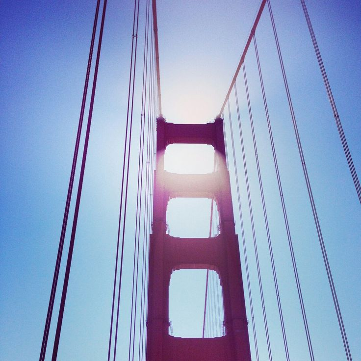 Halo over Golden Gate Bridge, San Francisco, California, USA - Architecture & Design