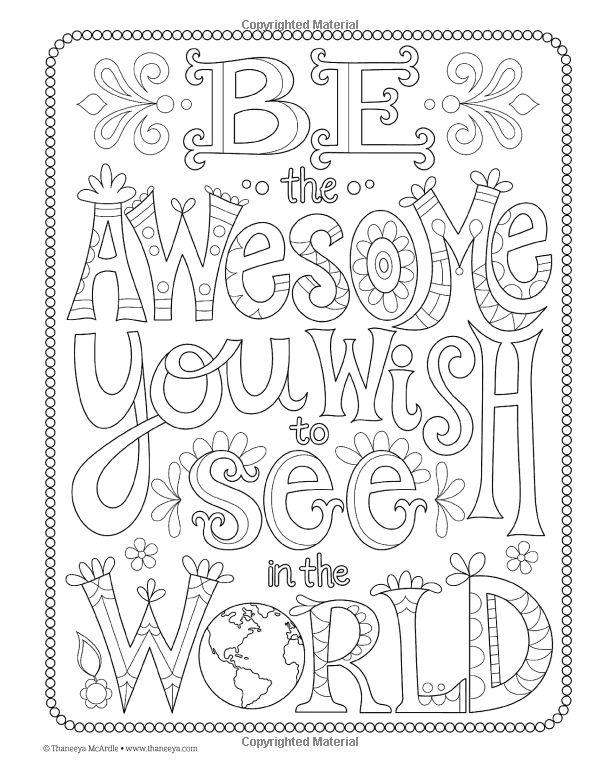Good Vibes Coloring Book: Thaneeya McArdle: 9781574219951 ...