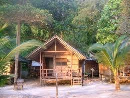 Typical cheap Thai beach hut....just perfect!