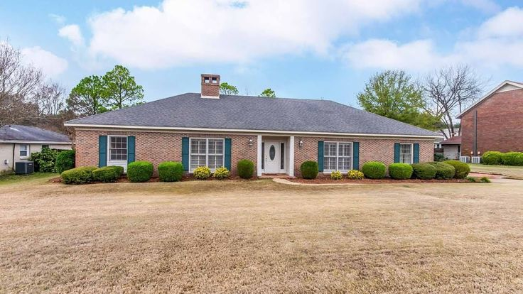 CLICK2TOUR this beautiful 4BR/3BA home w/foyer, living rm w/fireplace, dining room, den w/fireplace, office, and updated baths, garage and carport parking, covered patio and fenced yard. For more details, call/text, Karen Phillips, 334-320-9144, Trinity Realty.