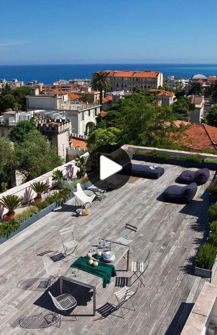 Un Idilico Costa Azul Hideaway In 2020 Rooftop Patio Design Roof Terrace Design Roof Garden