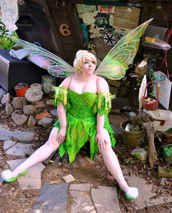 diy peter pan tinker bell costume verkleidung schminke und fasching. Black Bedroom Furniture Sets. Home Design Ideas